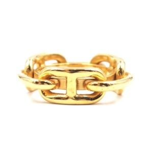 Gold Ring Chaine D'ancre Chain Scarf Round